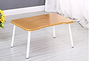 KHSKX Scrivania portatile elegante, minimalista, letto per comprimere la tabella riassuntiva delle pigrone, impermeabile scrittura apprendimento piccola scrivania , log color