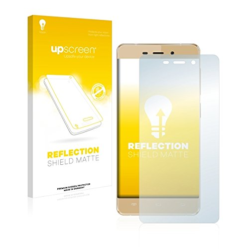 upscreen Reflection Shield Matte Bildschirmschutz Schutzfolie für Allview X3 Soul Mini (matt - entspiegelt, hoher Kratzschutz)