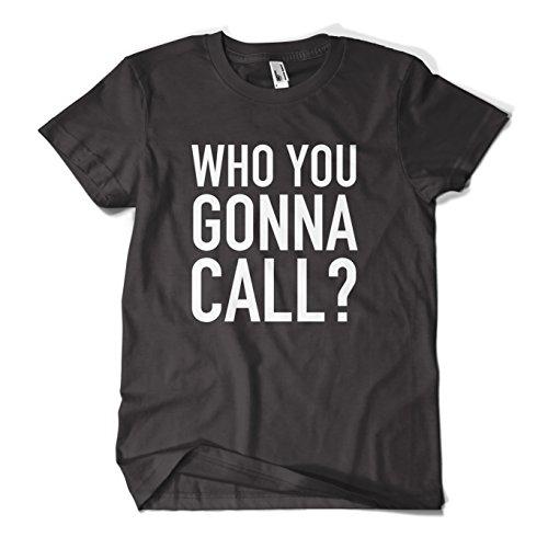 MYOG Who You Gonna Call T Shirt, Funny Halloween Costume Mens Girls Premium Tee Top New, For Men & Women Sizes S-XL