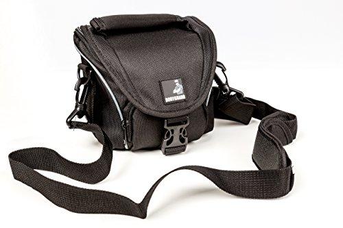 BODYGUARD 5* Tasche schwarz - passend für Sony Alpha 5000 5100 6000 6300 DSC- RX1R II RX10 II H300 HX400 RX1R II Sony Kamera-5000 Case