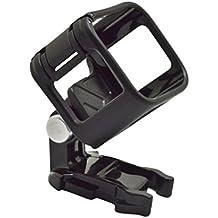 Sharplace Soporte de Montaje Carcasa de Marco de Vivienda Para Cámara de Deportes Gopro 4 Hero Color Negro