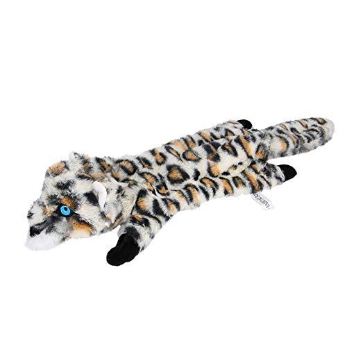 LuMon Haustier Langlebig Interaktiv Welpe Spielzeug, Haustier Hund Plüsch Erkennung, Bite Spielzeug Verschleißfeste Bite-Resistant Hund Spielzeug - Leopard (Spielzeug Die Hund Ausgestopften)