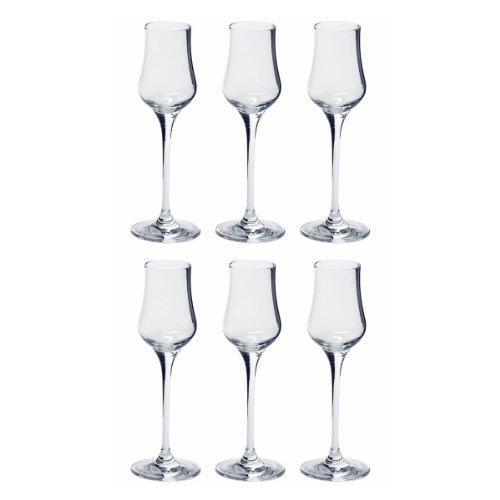Leonardo Grappaglas 85ml Ciao+ 6-er Set