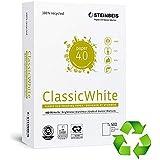 Steinbeis Classic White Papel A4 Reciclado 500H 80GR hechas de papel 100% recuperado