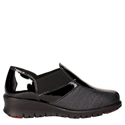 Cinzia Soft IE9662KV 002 Slip-on Chaussures Femme Vernis Noir Noir