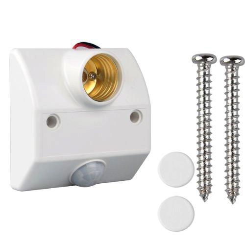 SODIAL(R) Culot Douille IR Ampoule Lampe A Detecteur Mouvement