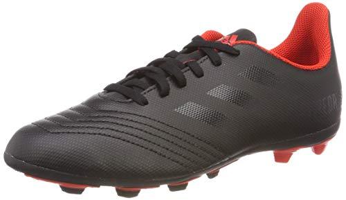adidas Jungen Predator 19.4 Fxg J Fußballschuhe, Schwarz Core Black/Active Red 0, 36 2/3 EU