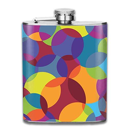 , personalisierte abstrakte bunte Musterflasche Flasche, Flaschen für Herren und Damen ()