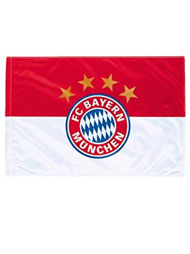 FC Bayern München Fahne Logo 150x100 cm / Flagge rot-weiß (Fcb Fahne)