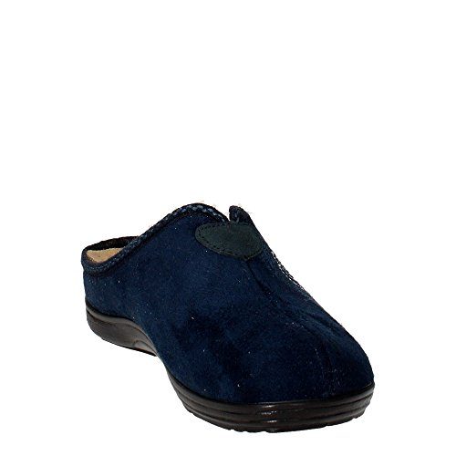 Grunland Cely 1234 Suede Chaussons Synthétiques Bleu
