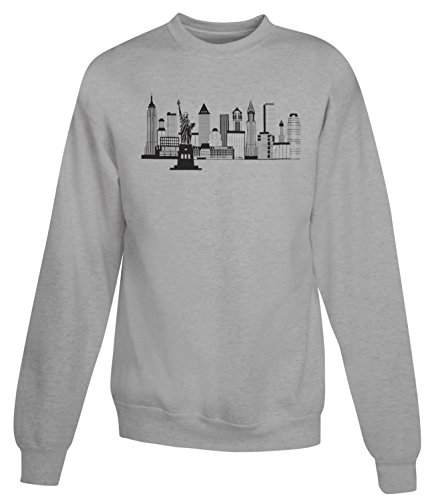 Billion Group | New York Skyline Black White Illustration | City Collection | Women