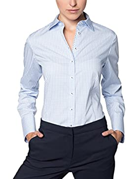 ETERNA Blouse for tall women COMFORT FIT checked