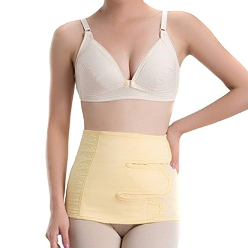 Baby Bucket Pre and Post Natal Maternity Corset Belt-(Yellow Small)