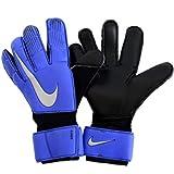 Nike Erwachsene Grip3 Goalkeeper Torwarthandschuhe, Racer Blue/Black/Metallic Silver, 9