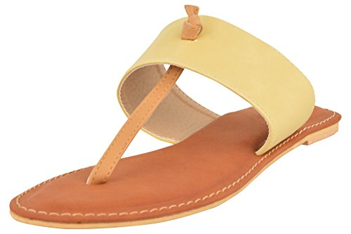 My Shop Women's Cushioned Flat Slippers - 7 UK