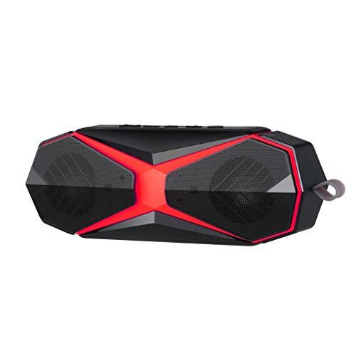 YUHUISTART Moskito Mörder Lautsprecher 2 in 1 Wasserdichter Drahtloser Bluetooth Außen Moskito-Repellent Tragbarer Stereo-Lautsprecher