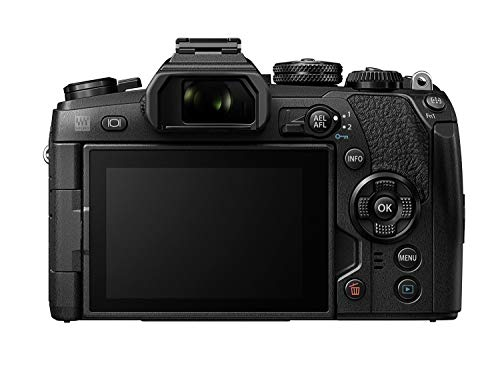 "Olympus OM-D E-M1 Mark II Systemkamera (max 60 FPS, 121 AF Punkte, 20 MP, 3"" LCD, 4k, HDR, 5-Achsen Bildstabi.) schwarz"