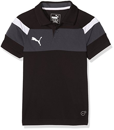 PUMA Kinder Polo Shirt Spirit II black-White