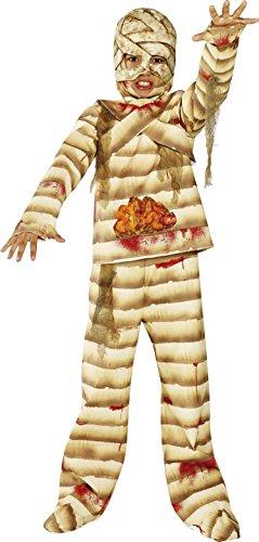 en Zombie Kostüm, Oberteil, Hose, Handschuhe, Kopfteil und Überschuhe, Größe: L, 36324 (Junge Mumie Kostüme)