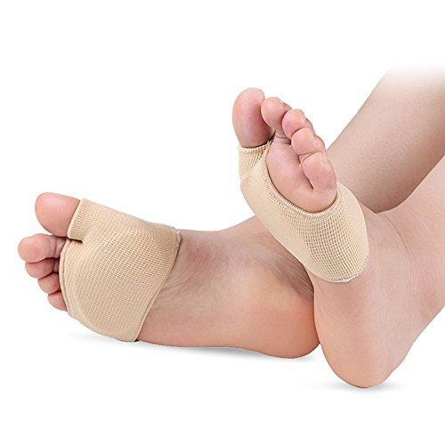 Silikon-Gel Zehen Separator Protektoren, 1 Paar Schuh Pads Lindert Füße Schmerzlinderung für Frauen und Männer(S)
