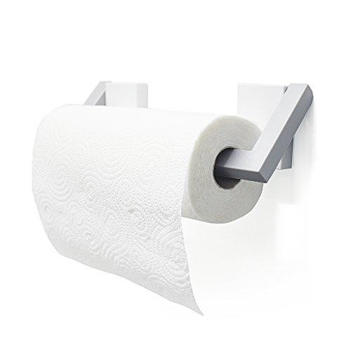 balviKüchenpapierhalterMagnetoWeiß/GrauFarbeMagnetrollenhalterPlastik