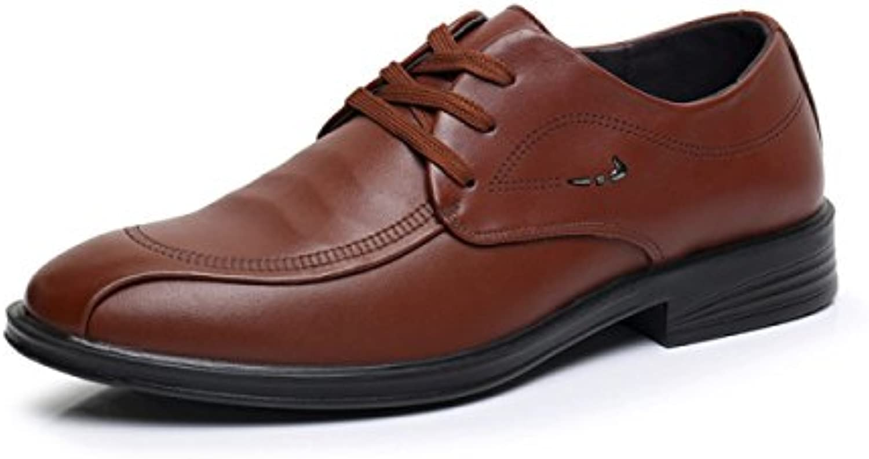Herbst Anzüge Herrenschuhe Herren Business Freizeit Schuhe weissher Boden Spitzenschuhe Schuhe