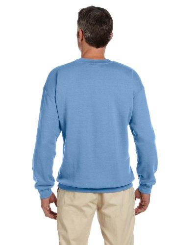 Broken Herz-Symbol auf American Apparel Fine Jersey Shirt Carolina-Blau