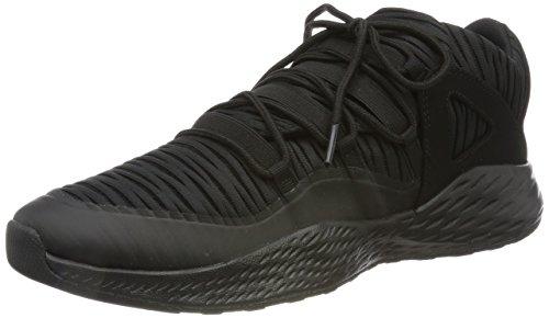Nike Herren Jordan Formula 23 Low Gymnastikschuhe, Schwarz (Black/Black), 45 EU (Mens Corporate Short)