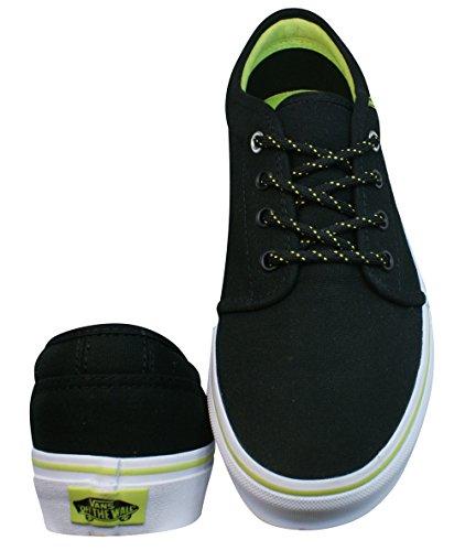 Vans Hommes 106 Vulcanized Lace Up Low chaussure de basket - Noir Noir