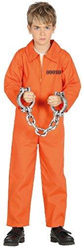 Imagen de niña niño prisionero preso naranja corredor de la muerte halloween horror miedo libro tv película disfraz 3 12 años  5 6 years