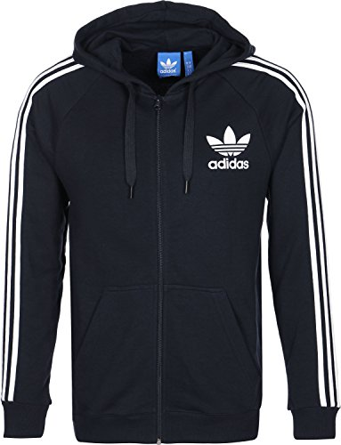 adidas Herren CLFN Full Zip Jacke, Legend Ink, XL