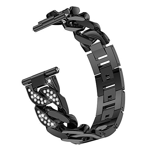 Preisvergleich Produktbild TianranRT Überzug Zink Legierung Uhr Band Ersatz Strap Handgelenk Zinklegierung Uhrenarmband Armband für Samsung Galaxy Watch (46MM)