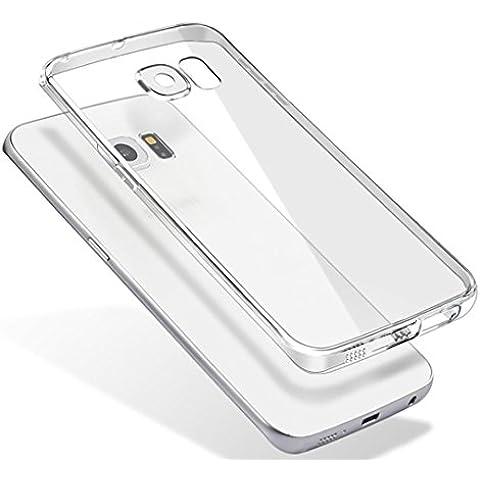 per Samsung Galaxy S7 edge Sannysis ultre sottile 0,3 millimetri caso di gomma chiaro TPU morbido
