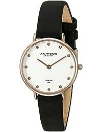 Akribos XXIV Reloj con movimiento cuarzo japonés Woman 28 mm