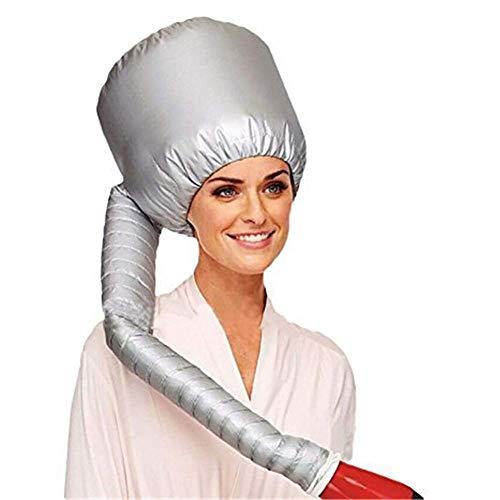NSWD Motorhaube Haartrockner Heizung Kappe Kapuze Haartrockner Aufsatz, Sicherheit tragbar Fön Mütze zum Salon Haarpflege Behandlung - Soft Bonnet Hair Dryer
