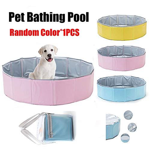 dream-cool Haustier Schwimmbad Hund Katze Badewanne Haustier Falten Doppelschicht PVC Kühlung Badewanne Tragbares Schwimmbad Für Kinder Oder Haustier -
