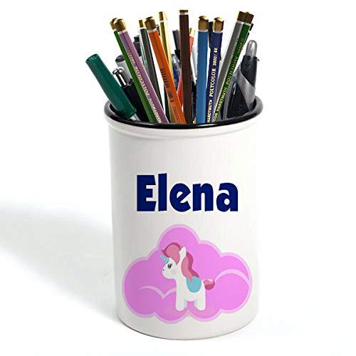 Lapicero con diseño de unicornio personalizable para la vuelta a la escuela, Navidad, cumpleaños, niños y niñas, 16 onzas (Unicorn 5)