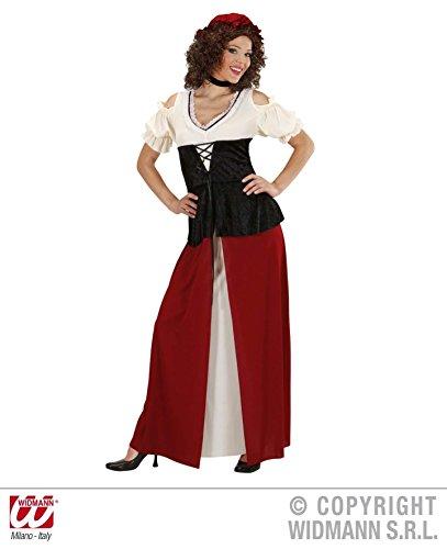 Widmann-cs923186-Kostüm aubergiste tenanciere Damen Größe - Kostüm Medievale Femme