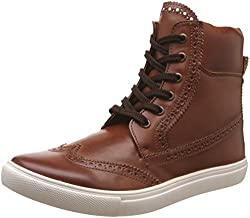 Knotty Derby Mens Lockhart Brogue Tan Boots -8 UK/India (42 EU)