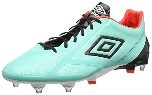 Umbro Velocita 2 Pro Sg, Chaussures de Football homme Vert - Green (Marine/Black/White/Fiery Coral)