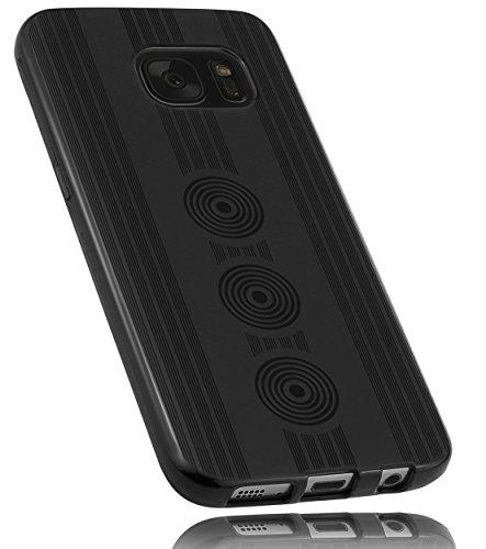 mumbi Schutzhülle für Samsung Galaxy S7 Hülle Motiv Kreise