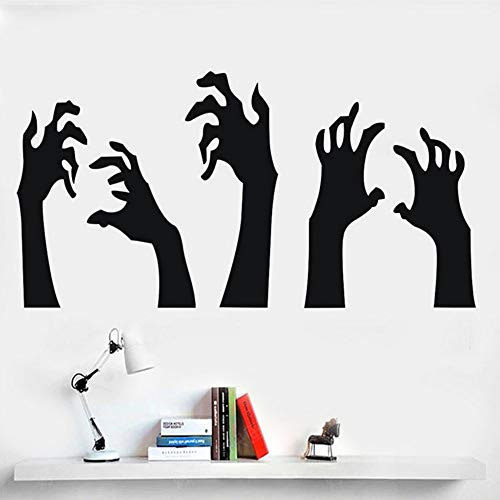 (Yzybz Neues Festival Dekorative Happy Halloween Hintergrund Wandaufkleber Fenster Dekoration Abziehbild Dekor Halloween Ghost Wallpapers)