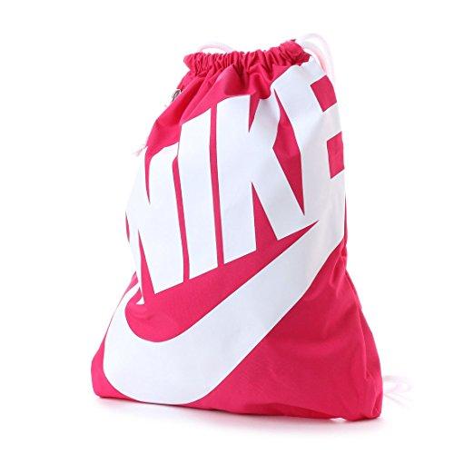 Nike-frühling (Nike Heritage Gymbag Gymsack Turnbeutel BA5351 (pink/white))
