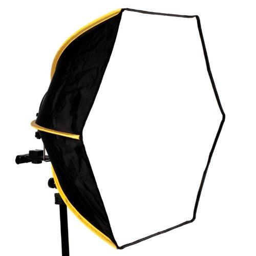 SMDV Diffuser-60 Mobile Hexagon-Softbox (sechseckig) 60 cm Durchmesser für Aufsteckblitze - ideal für anspruchsvolle Strobisten