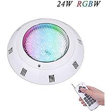 coolwest RGBW Piscina Leuchten resistente al agua IP68 colgados en la pared colgado LED piscina iluminación