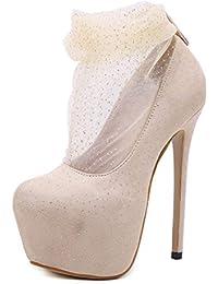 Amazon.it: Scarpe Tacco 17 Cm Scarpe da donna Scarpe