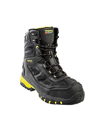 """Blakläder 244839049933W40Winter Chaussures de sécurité, S3""""SRC"""", taille 6.5, Noir/jaune"""