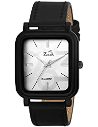ZIERA ZR7039 BLACK LEATHER STRAP STYLISH Analog Watch - For Men
