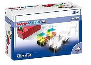 Fischertechnik LED Set - Añade Efectos de Luz a tus Creaciones Realizadas con Juegos de Construcción.