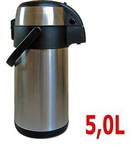 thermoskanne 1 8l 3 0l 5 l pumpkanne isolierkanne thermosskanne kaffeekanne teekanne 5l. Black Bedroom Furniture Sets. Home Design Ideas